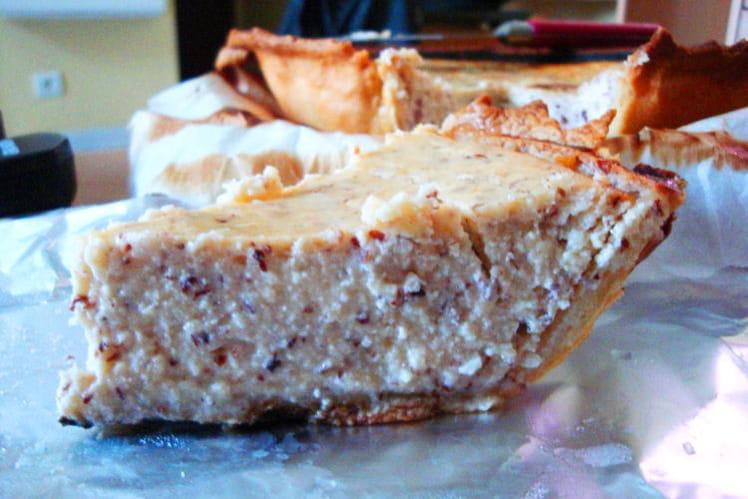 cheesecake façon amandine