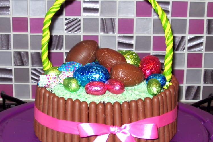 Gâteau de Pâques chocolat-noix de coco
