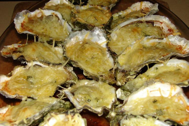 Huîtres farcies