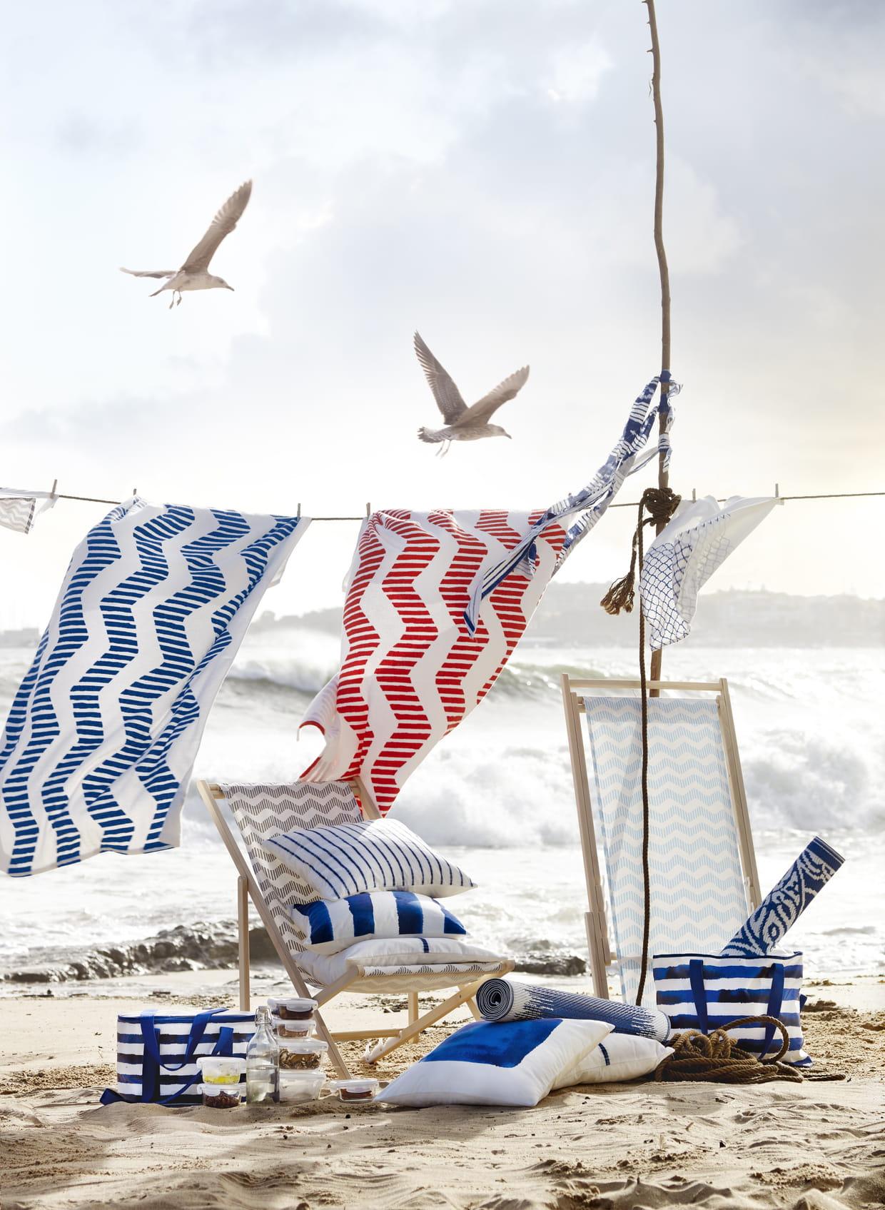 chaises de plage pliables mysings d 39 ikea. Black Bedroom Furniture Sets. Home Design Ideas