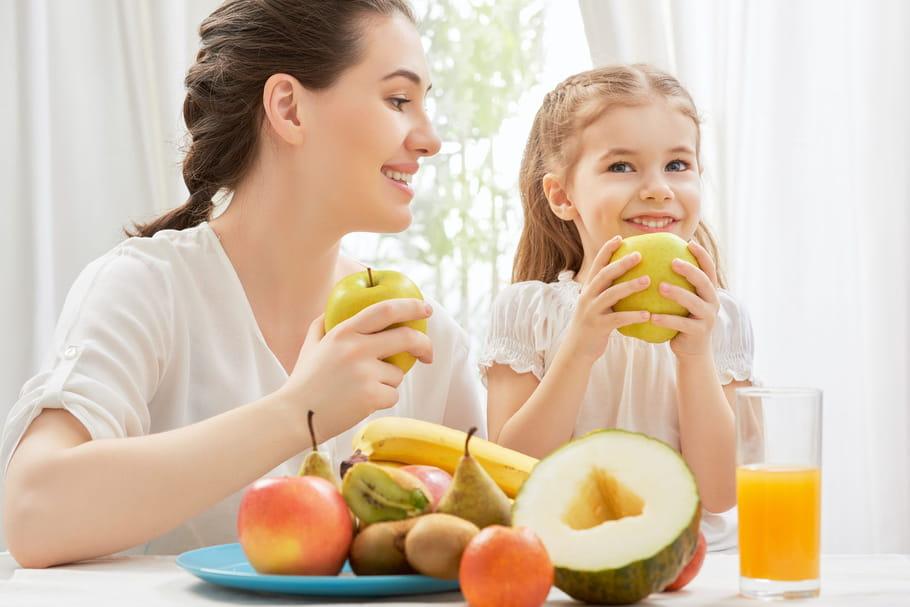 Quand le plaisir de manger motive l'enfant à manger plus sain