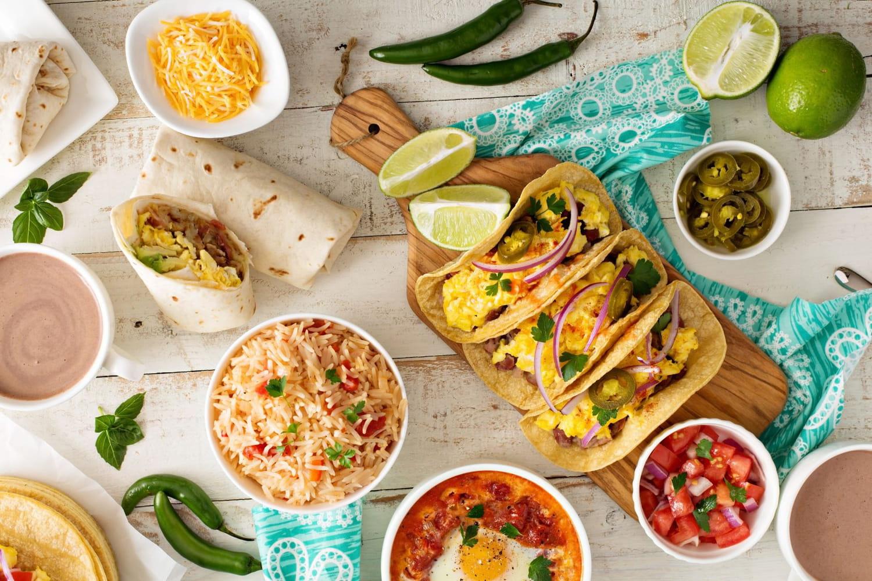 Les plats traditionnels mexicains