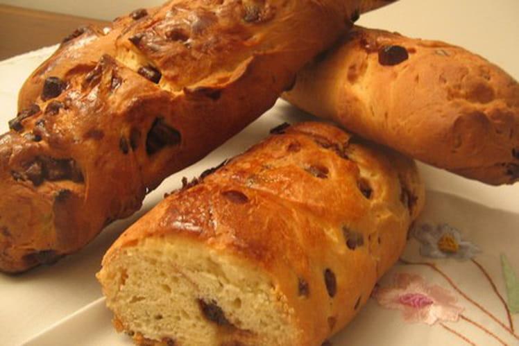 Mini-baguettes viennoises