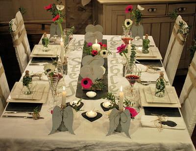 table 'zinc et ardoise'