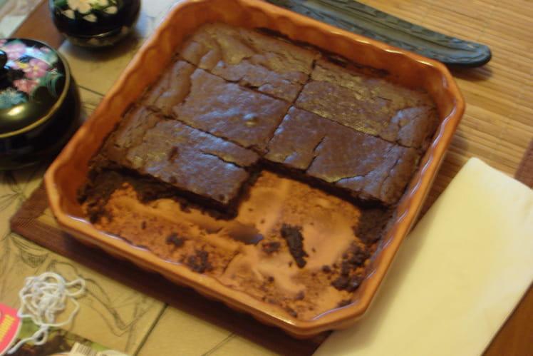 Fondant gourmand chocolat-marrons