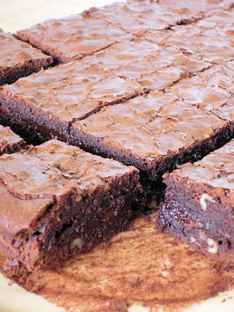 recette de brownie au chocolat extra la recette facile. Black Bedroom Furniture Sets. Home Design Ideas