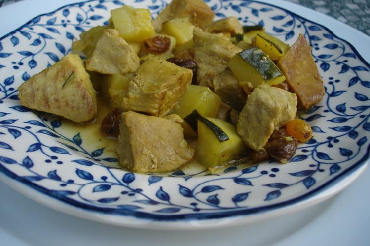 Steaks de thon au curry