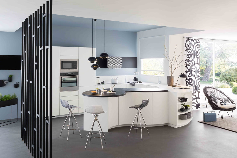 cuisine arabesque chez mobalpa. Black Bedroom Furniture Sets. Home Design Ideas