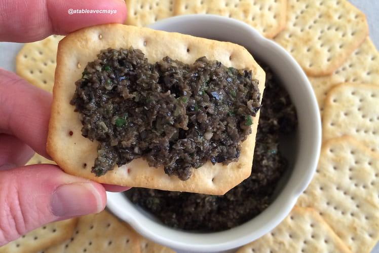 Tapenade d'olives noires et câpres