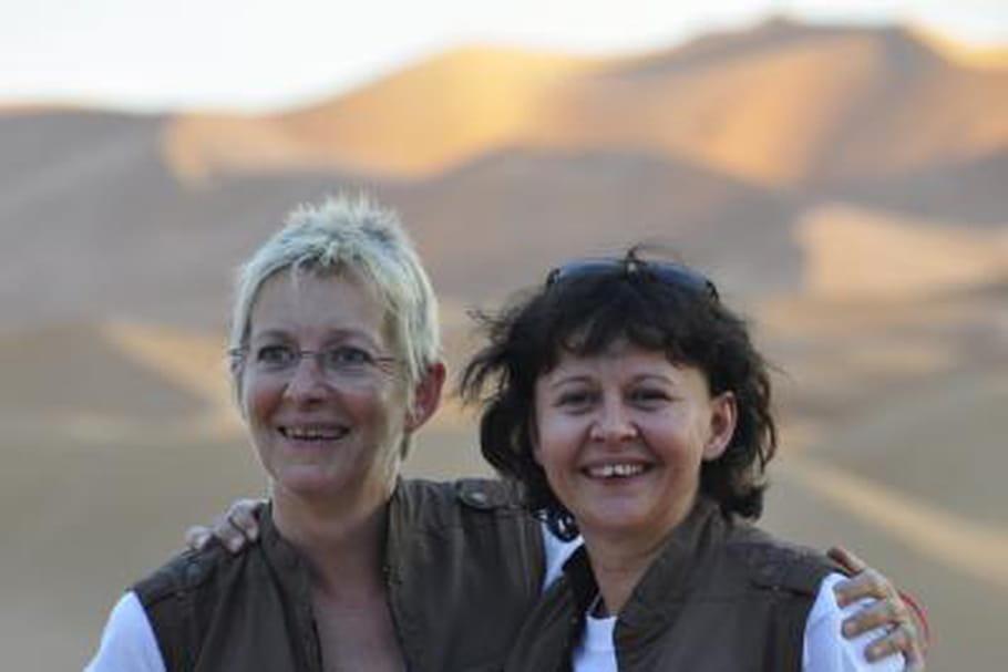 """Cathy et Florence (Team 101) : """"Hyper impatientes de repartir""""!"""