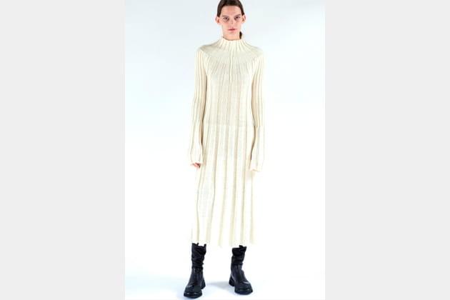 Robe en laine de Céline