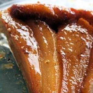 tarte tatin à la poire