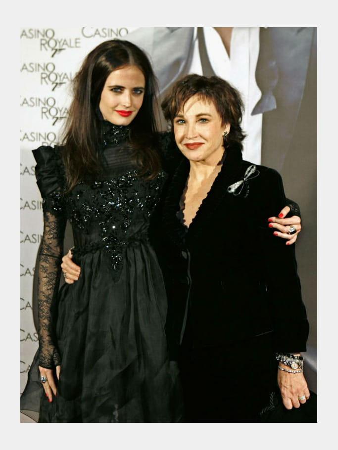 Eva Green et sa mère Marlène Jobert