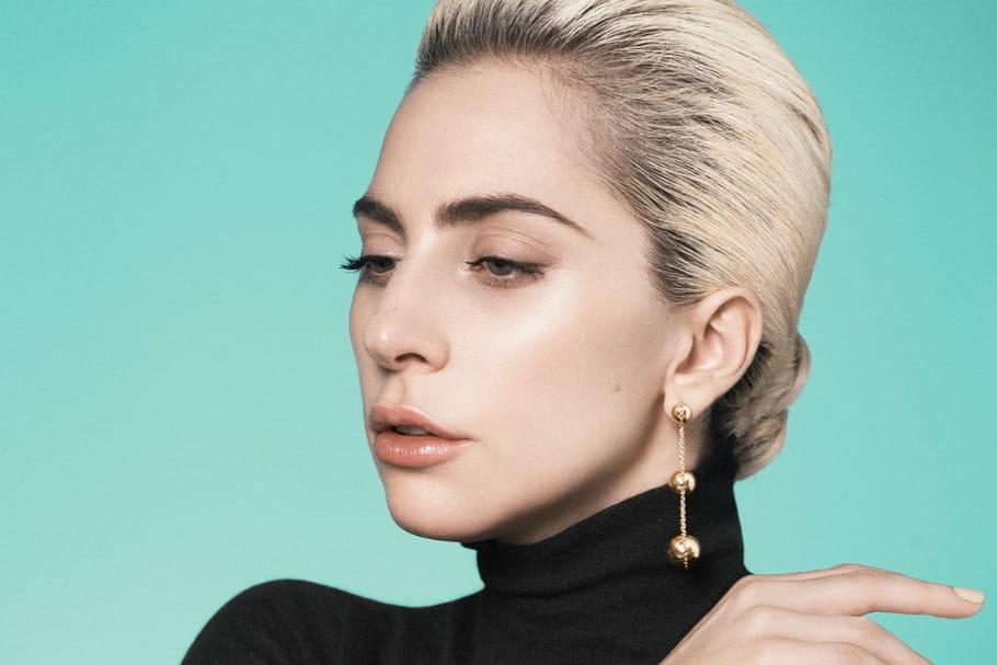 Lady Gaga joue la simplicité pour Tiffany & Co