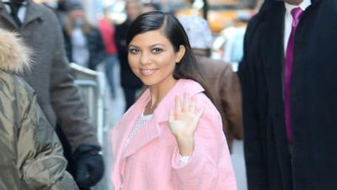 Le look people du jour : Kourtney Kardashian