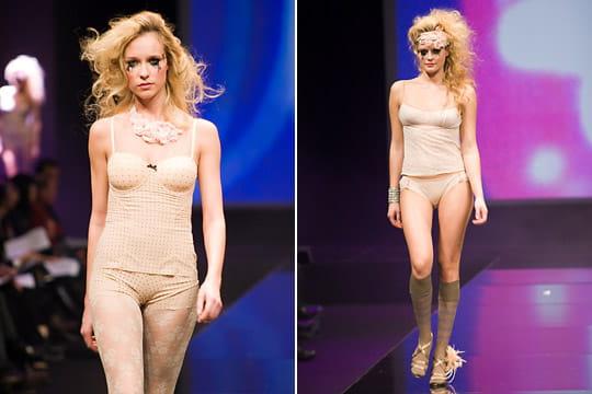 Ensembles lingerie Sheer Iridesscent et Nina Ricci