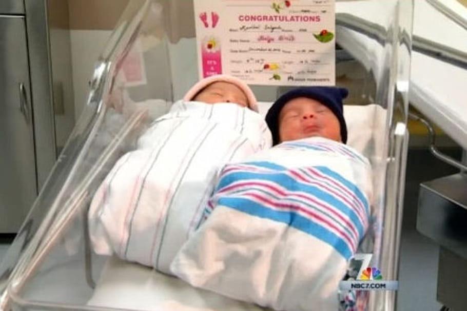 Ces jumeaux ne sont pas nés la même année !