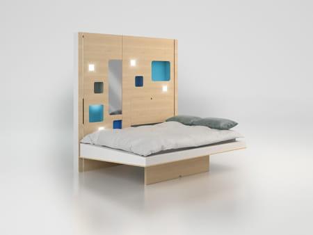 et hop un lit qui se plie nos envies. Black Bedroom Furniture Sets. Home Design Ideas