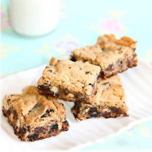 carrés peanut butter-oreo-chocolat