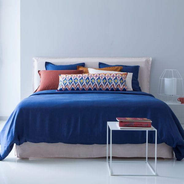 linge de lit en lin d 39 am pm. Black Bedroom Furniture Sets. Home Design Ideas