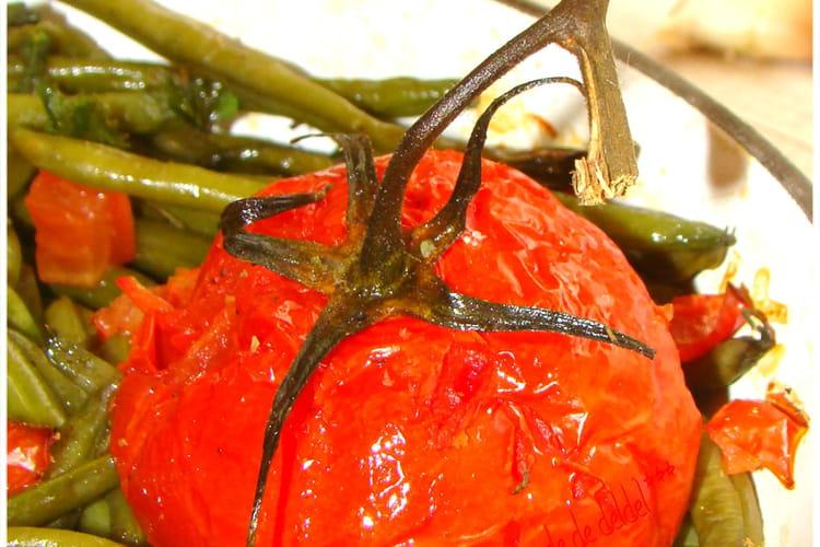 Haricots verts du potager à la provençale