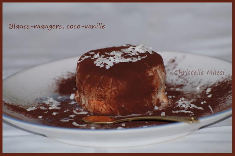 Blanc-manger coco-vanille