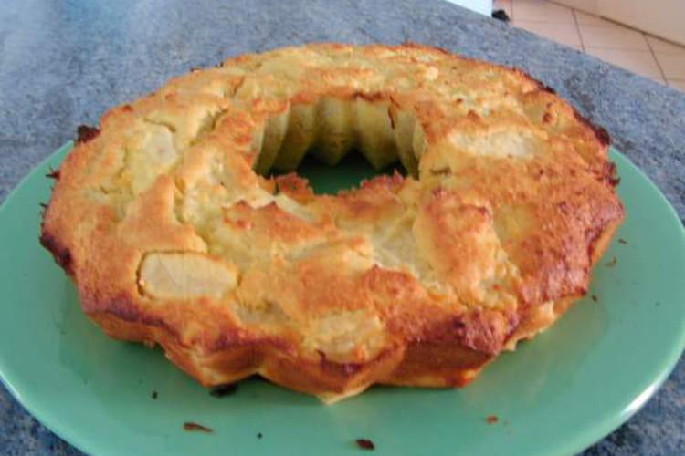 Gâteau pomme et coco