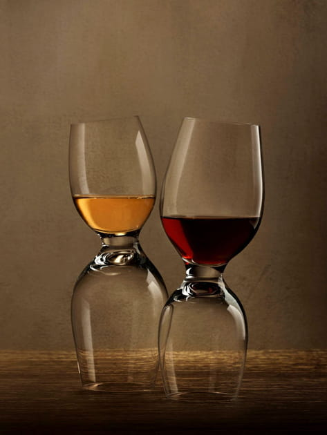 Verres à vin Red or white de Nude