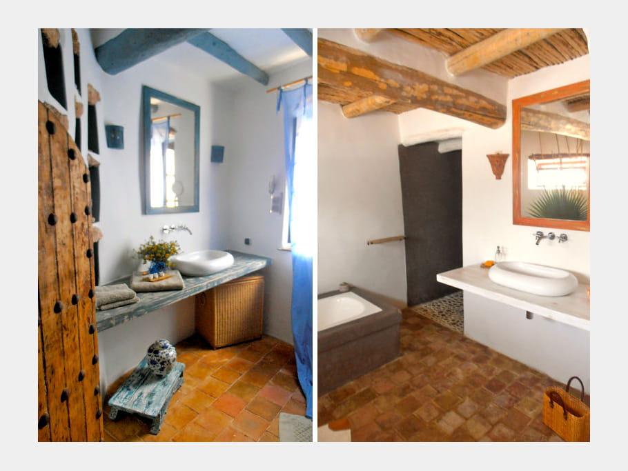 Salles de bains maison entre charme et tradition au - Maisons charme et tradition ...