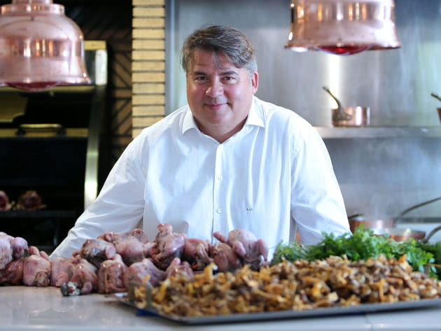 Alain Llorca, chef du restaurant Alain Llorca
