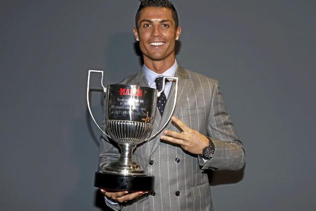 Cristiano Ronaldo, papa sportif