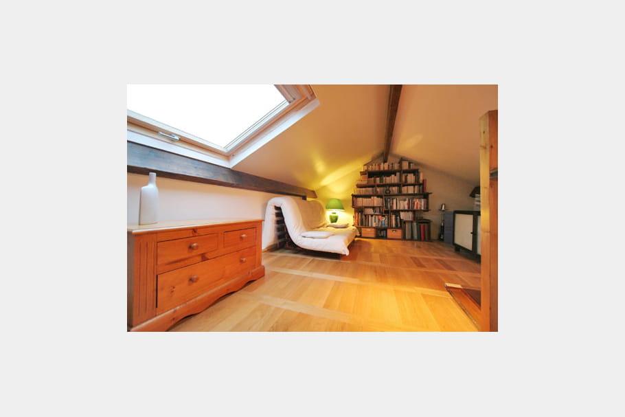 la mezzanine apr s home staging red corer pour mieux revendre journal des femmes. Black Bedroom Furniture Sets. Home Design Ideas