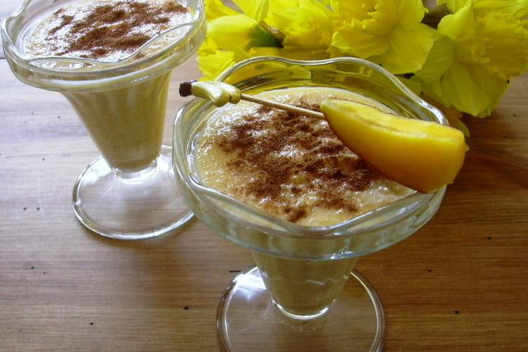 Crème mangue-banane