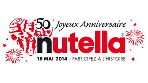 Nutella fête ses 50 ans au Parc de Sceaux
