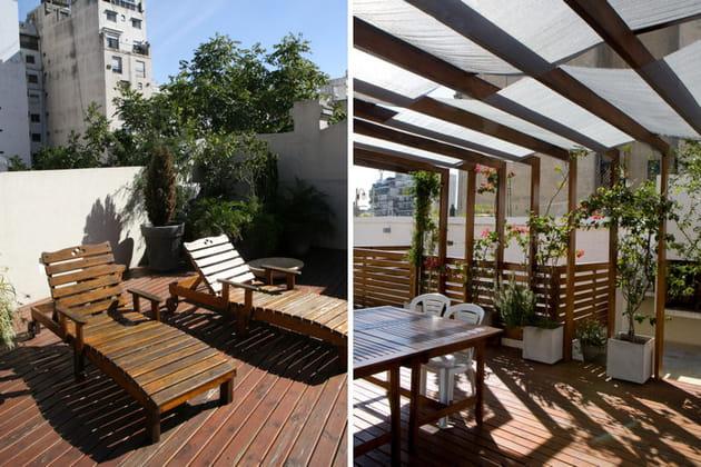 Salon et salle à manger extérieurs