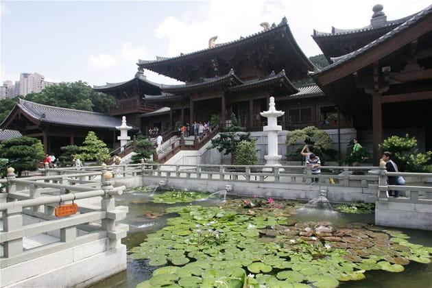 Chi Lin Nunnery, un couvent hors du temps