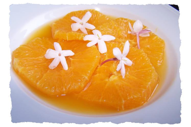 Oranges au jasmin