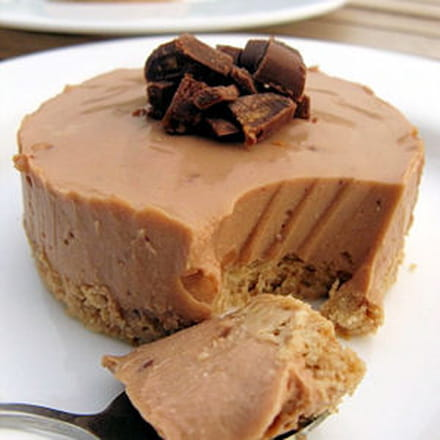 cheesecakes individuels aux daims