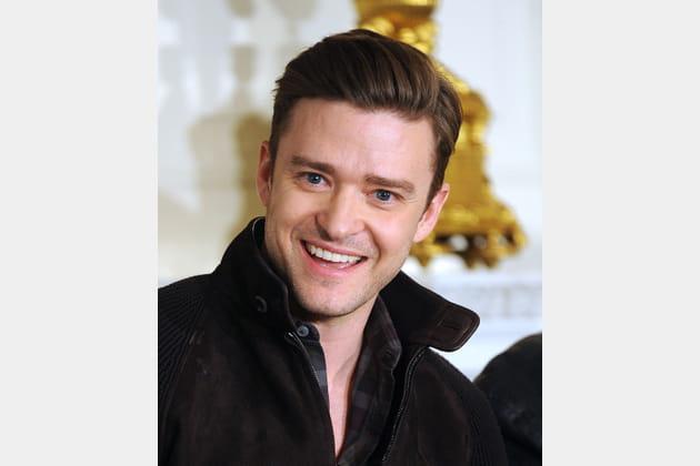 Justin Timberlake sans barbe