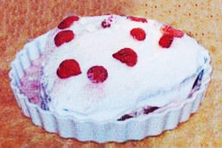Délice coco-fraises