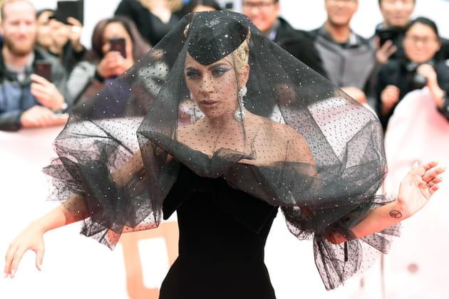 Lady Gaga: la mariée était en noir