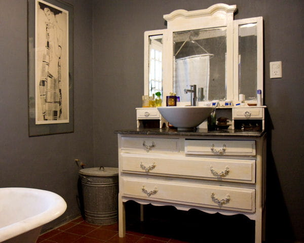 commode ancienne salle de bain