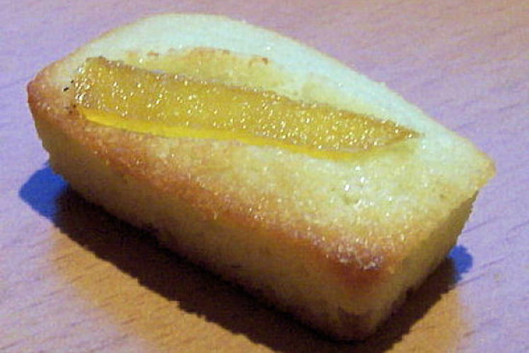 Financiers au gingembre