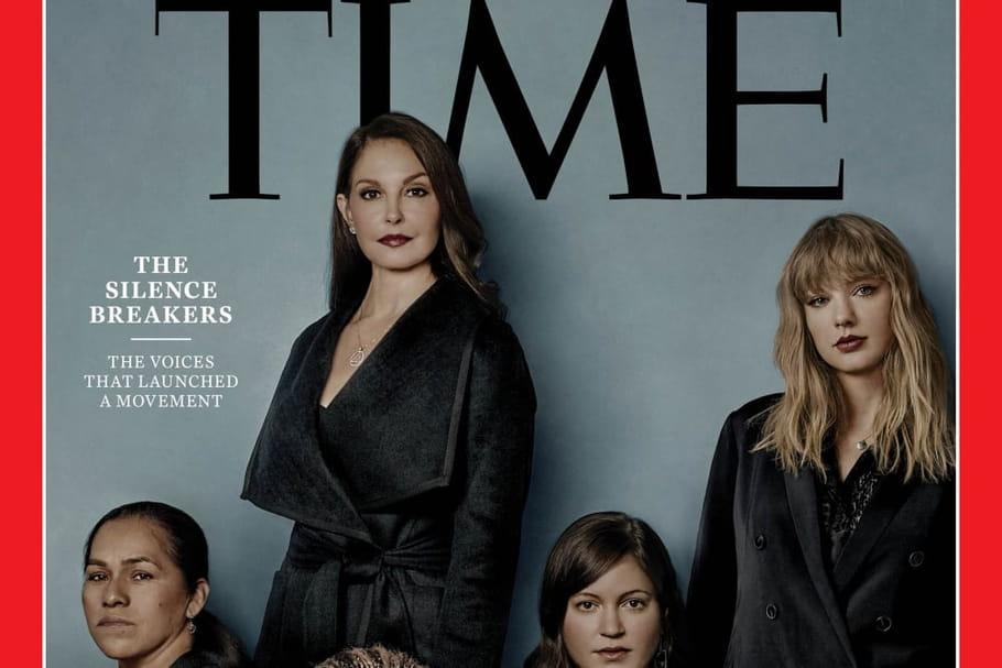 """Celles qui ont brisé le silence, """"personnalité de l'année"""" du Time"""