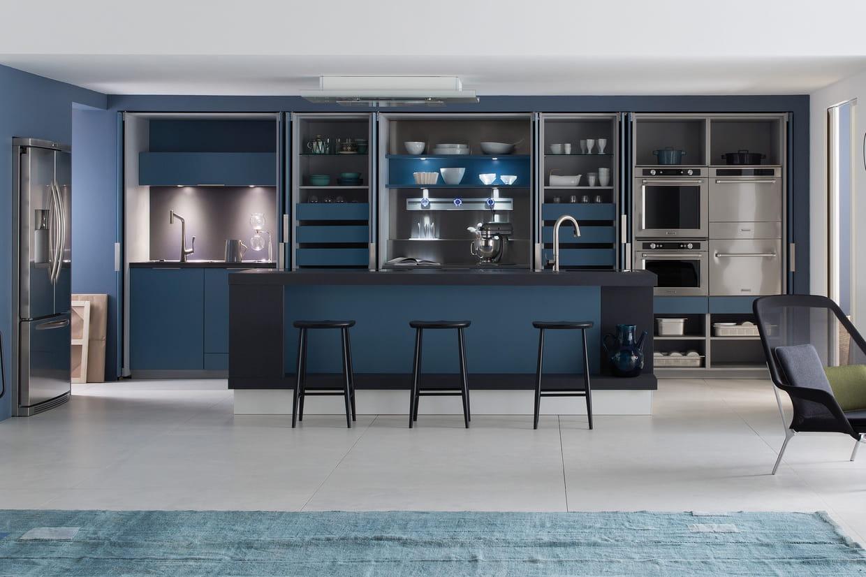 cuisine intelligence et design de perene. Black Bedroom Furniture Sets. Home Design Ideas