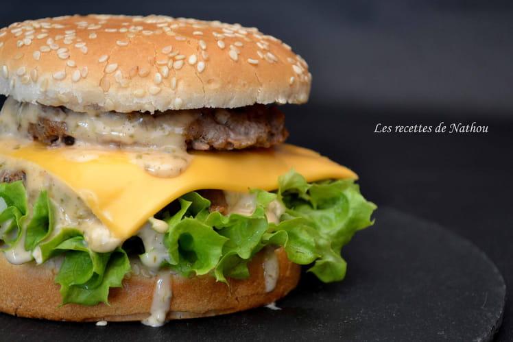 Burger Giant et sa sauce
