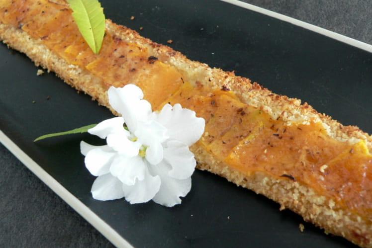 Tartelette fine au melon à la fève tonka