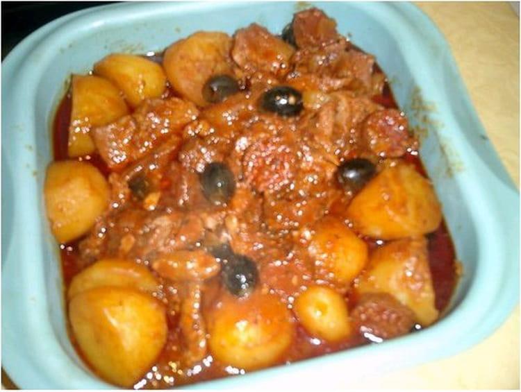 Recette de saut de veau de lisbonne la recette facile - Cuisiner le veau marmiton ...