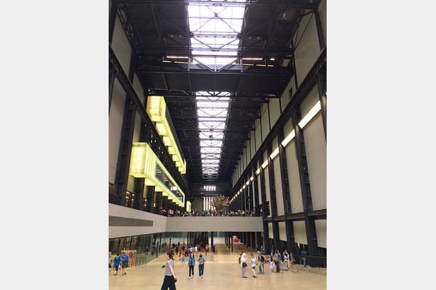Turbine Hall : pour une entrée tonitruante