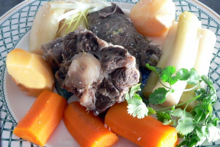 Pot-au-feu de boeuf aux légumes anciens